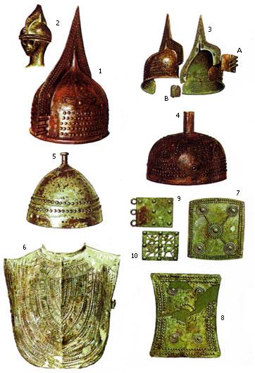 Доспехи древней Италии